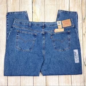 New LEVI'S Blue 550 Relaxed Fit Tapered Leg Jeans